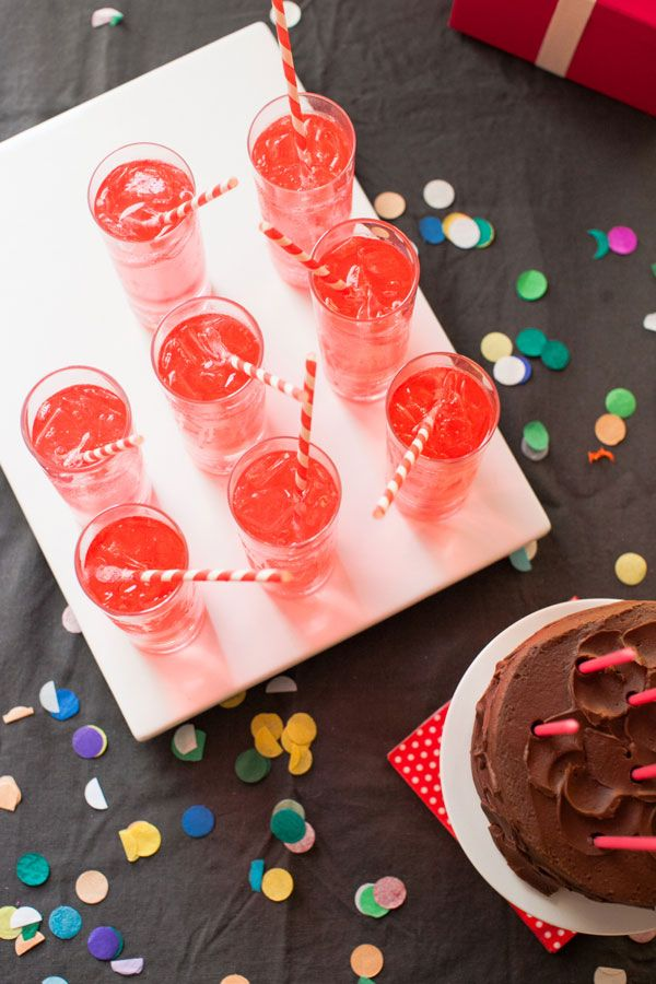 Rainbow Party | You can throw a great party with just a few things!
