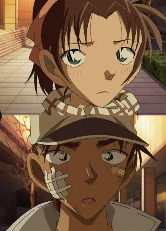 Heiji y kazuha <3