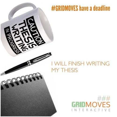 Write a phd in a year