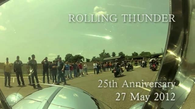 25th Rolling Thunder Motorcycle Rally in Washington DC.  Produced by Charlie Stewart, Col Vance Stewart's son.  Edited using Avid.