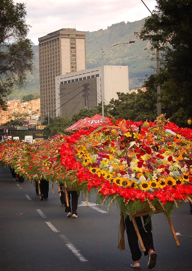 Medellin, Columbia Flower Festival