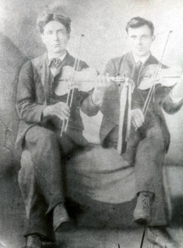 Fiddlers: Dougald MacIntyre and Joe Smith - Beaton Institute Digital Archives