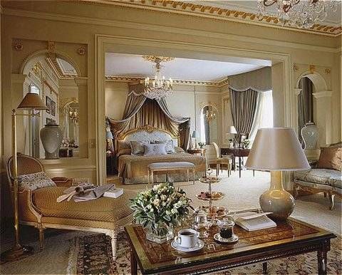 Stunning Bedroom ~ Royal Suite at the Hotel Plaza Athénée ~ New York, New York