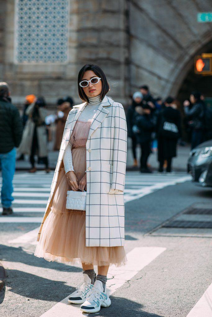 8b7fe1beda Street Style at New York Fashion Week Fall 2018