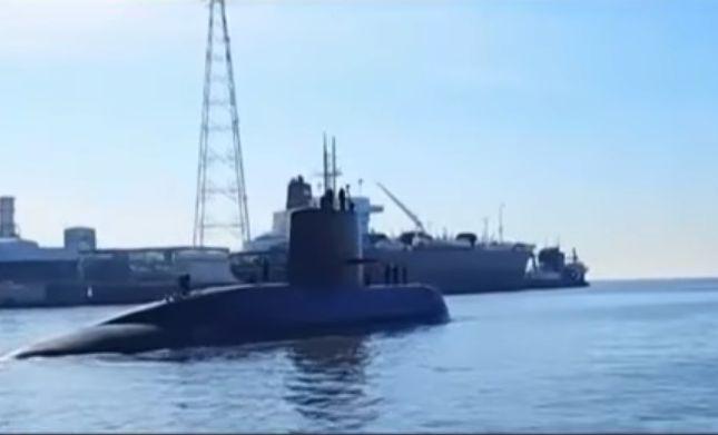 U-Boot ARA San Juan - Screenshot YouTube Die argentinische Regierung bedankte sich beim brasilianischen Verteidigungsminister, Raul J...