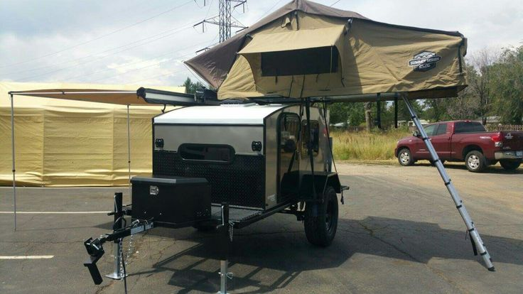 Microlite Travel Trailer >> Extreme Off-road Hiker Trailer | Hiker Trailers Extreme ...
