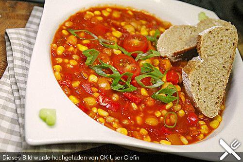 Chili sin Carne, ein tolles Rezept aus der Kategorie Gemüse. Bewertungen: 241. Durchschnitt: Ø 4,4.