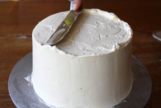 Excellent video tutorials! How to cut and fill, crumb coat, and smooth frost a cake.