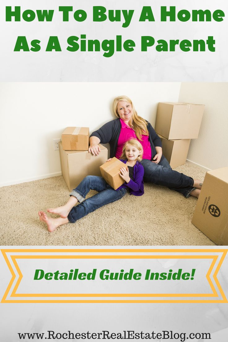 How To Buy A Home As A Single Parent - http://www.rochesterrealestateblog.com/buy-home-single-parent/ via @KyleHiscockRE