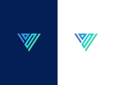 V / logo design  by Deividas Bielskis #Design Popular #Dribbble #shots
