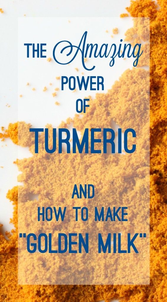 "How to Make ""Golden Milk"" with Turmeric • a bada bing!"