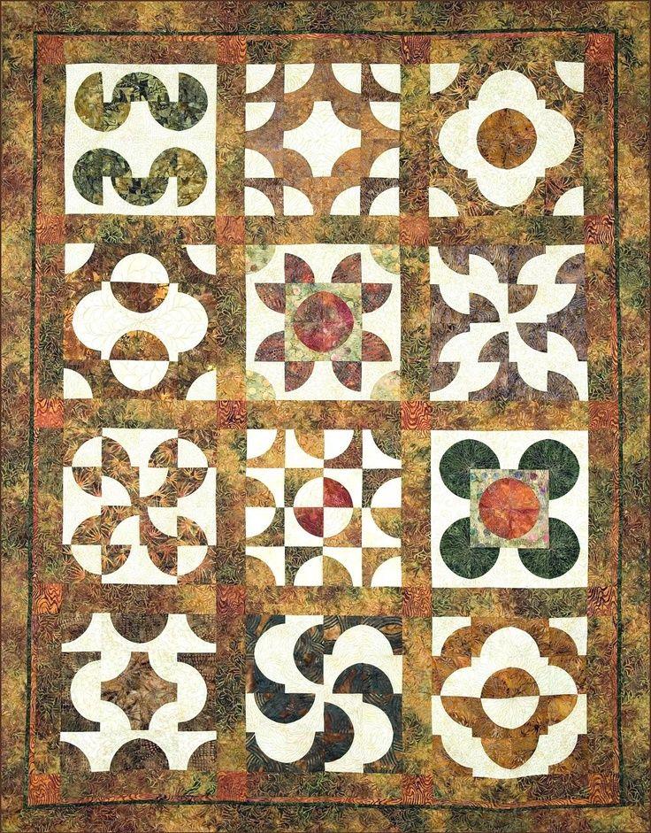 drunkard's path quilt pattern variations | drunkard's path quilt