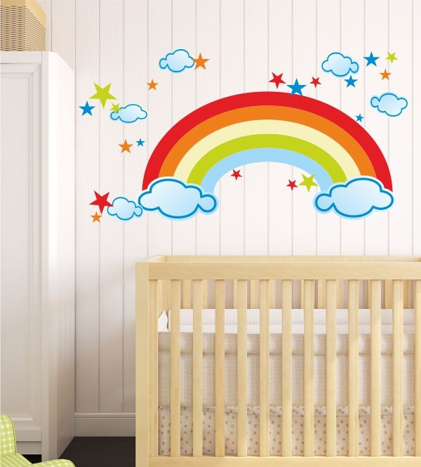 Die besten 25 regenbogen himmel ideen auf pinterest for Kinderzimmer himmel