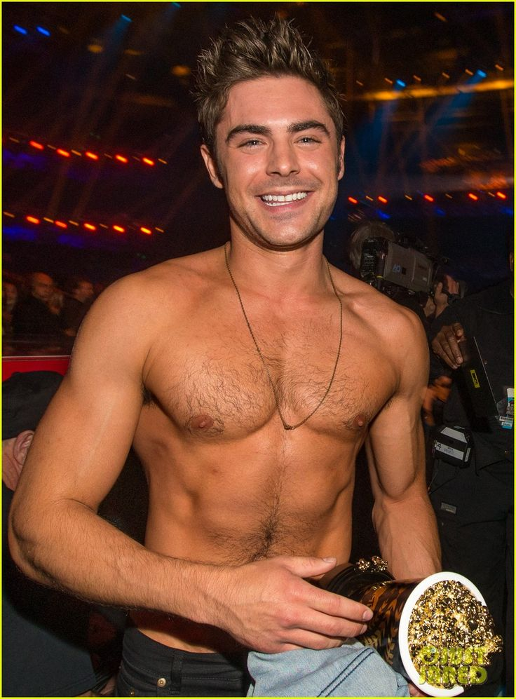 Here Are More Zac Efron Shirtless Photos, Because Why Not! | more zac efron shirtless photos mtv movie awards 2014 02 - Photo