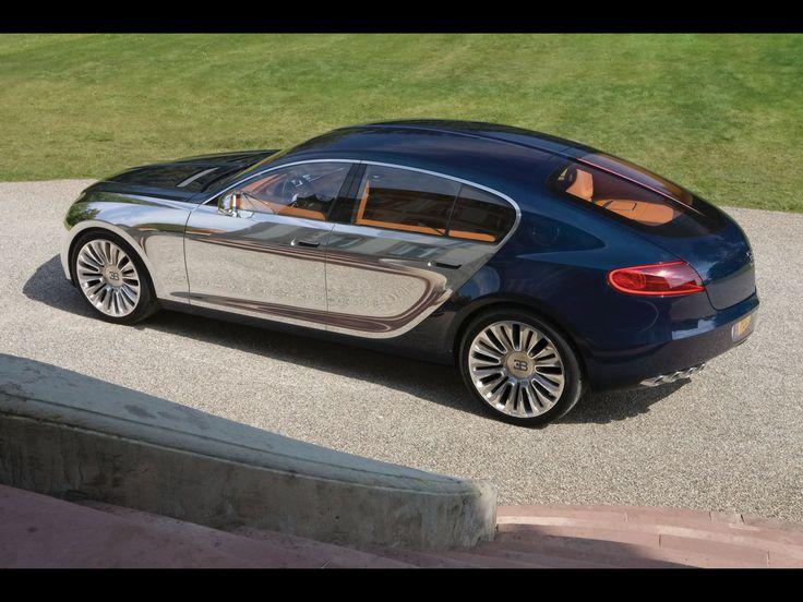 2009 Bugatti 16 C Galibier Concept Rear And Side Top Wallpaper