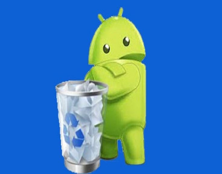 how to empty trash on android email