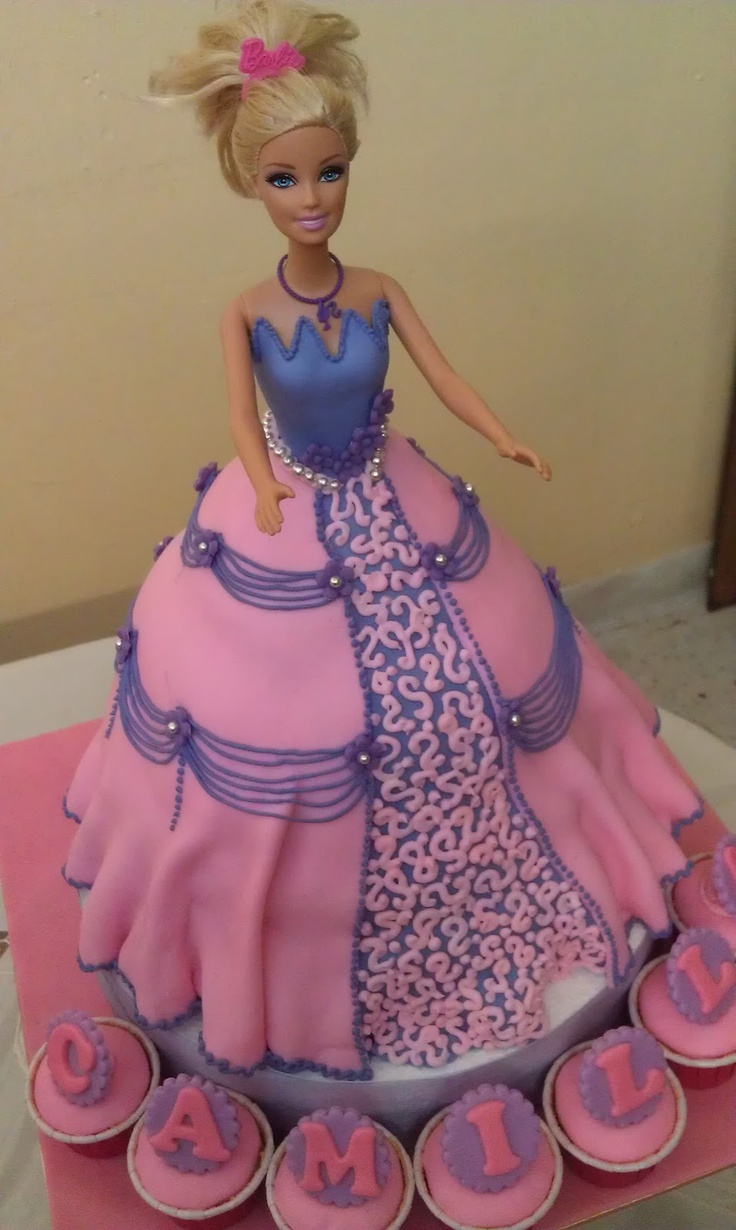 17 Best Images About Barbie Birthday Cakes On Pinterest