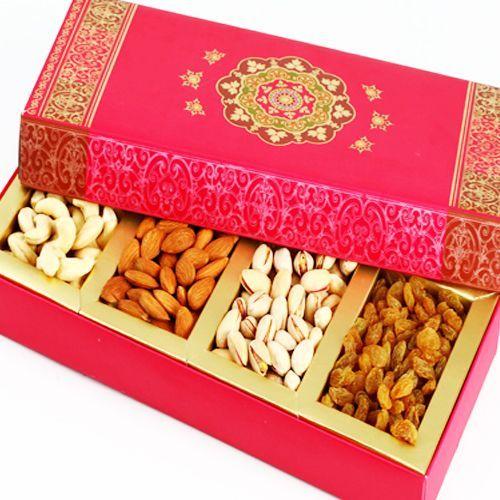 #Beautiful Pink Dry Fruit Box