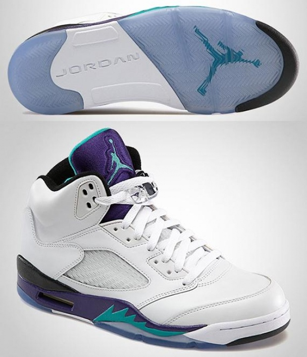 "Sneaker Game – Nike Air Jordan V ""Grape"""
