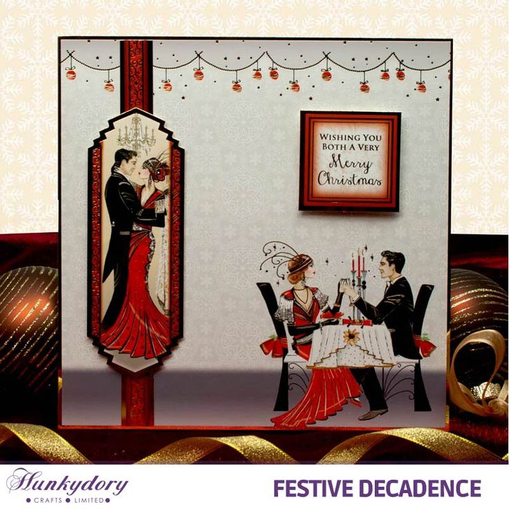Festive Decadence - Hunkydory | Hunkydory Crafts