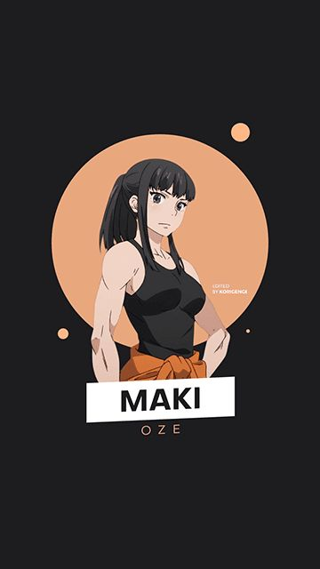 Maki Oze Fire Force Wallpaper Character wallpaper