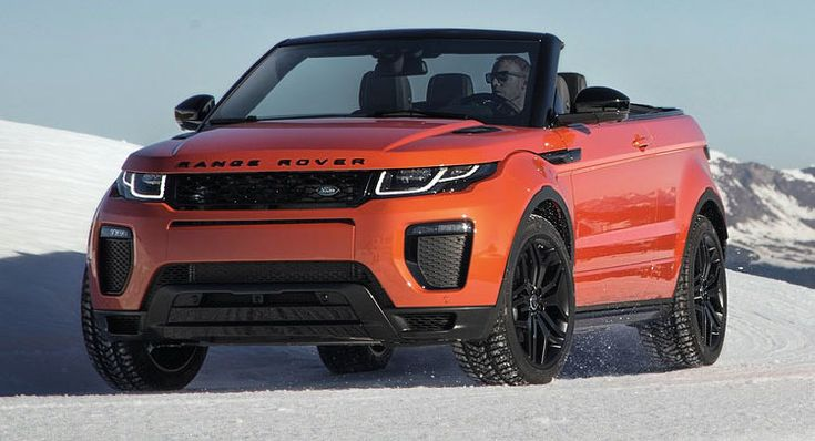 This Is Range Rover's 2017 Evoque Convertible, Priced From $50,475 [55 Pics & Videos]