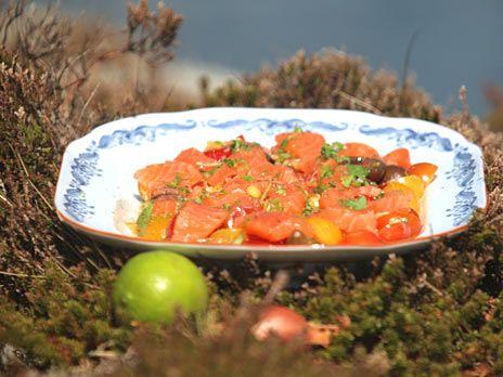 Salmalax med tillbehör | Recept från Köket.se