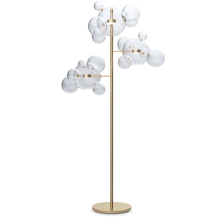 Shop SUITE NY for the Bolle floor lamp designed by Giopato and Coombes and more contemporary floor lamps and Italian glass lighting