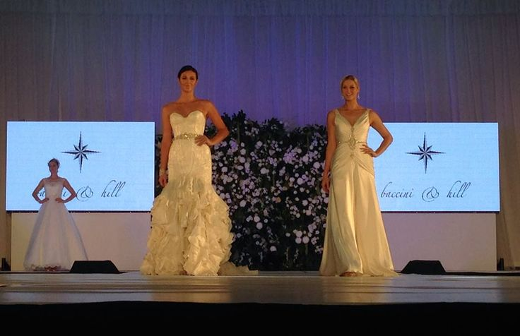The #UltimateBridalEvent models looking stunning in Baccini & Hill during the last parade of the day, what a way to wrap up a mind-blowing show!