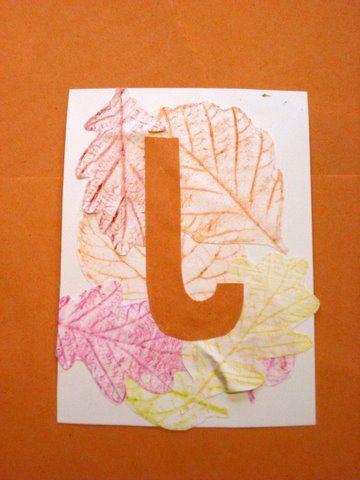 make an alphabet chart