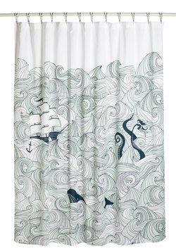 Swell Acquainted Shower Curtain, #ModCloth $54.99 - Ugh!! Why so much! It's perfect :(