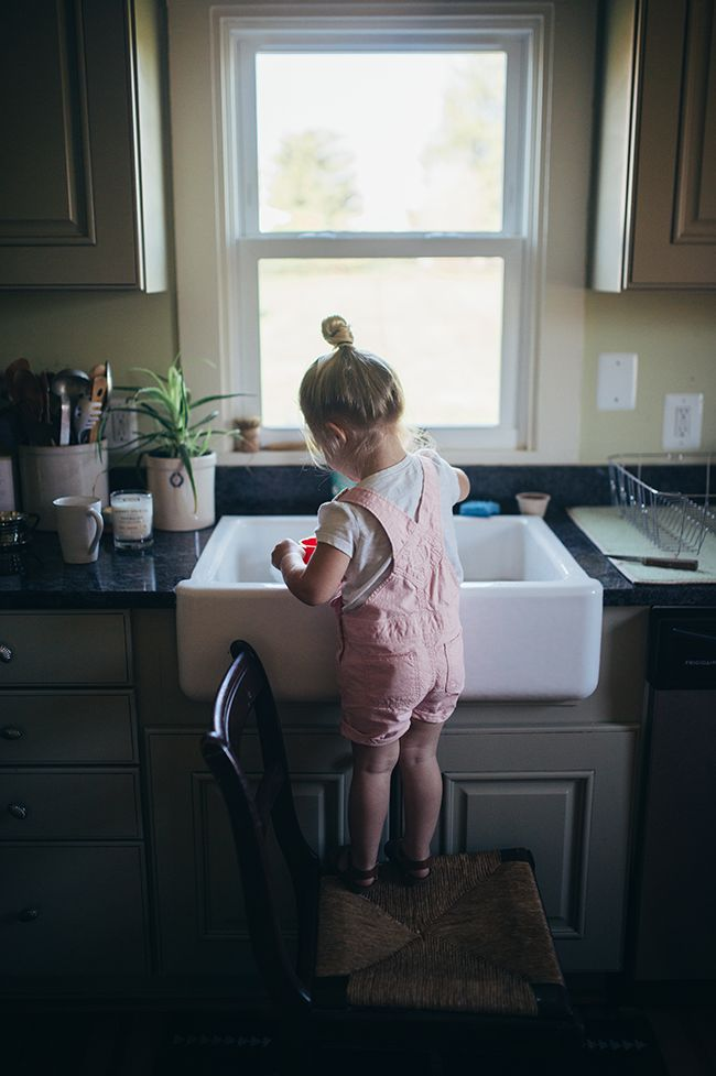 a daily something: Life With Littles | Housework & Chores