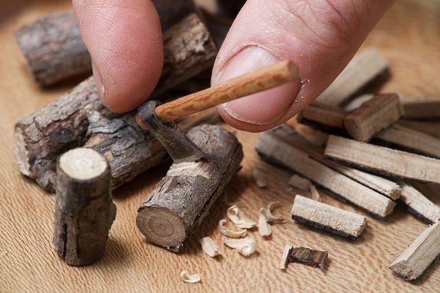 Ax, handmade Wood& Stell tools miniature   Carlos Enrique Hermosilla   Flickr