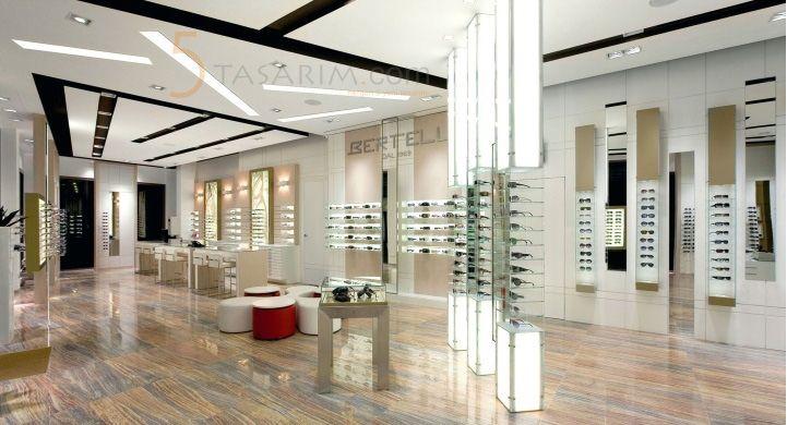 gözlük mağazası karşılama masası sunum masaları