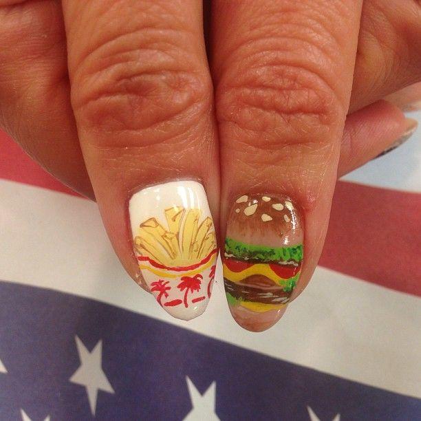 nail art - kawaii