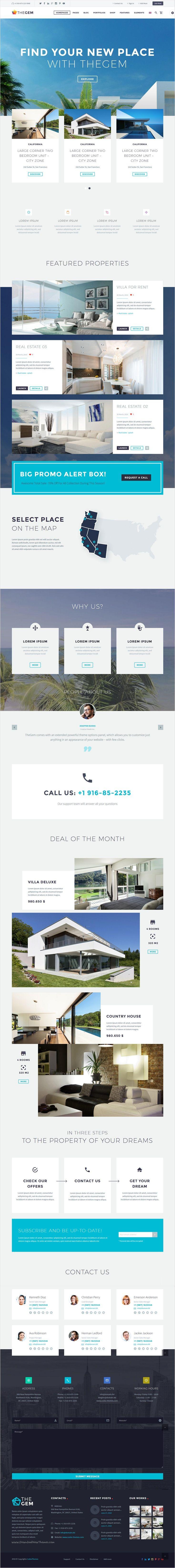 TheGem   Creative Multi Purpose High Performance WordPress Theme  Flat Web  DesignApp. Best 25  Apartment websites ideas on Pinterest   Photo layouts