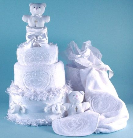 *Please allow 3-7 business days for processing. VIEW SHIPPING RATES/ MAP FOR THIS ITEM Send the baby a unique baby gift for a very special occasion. This divine diaper cake is simply beautiful and inc