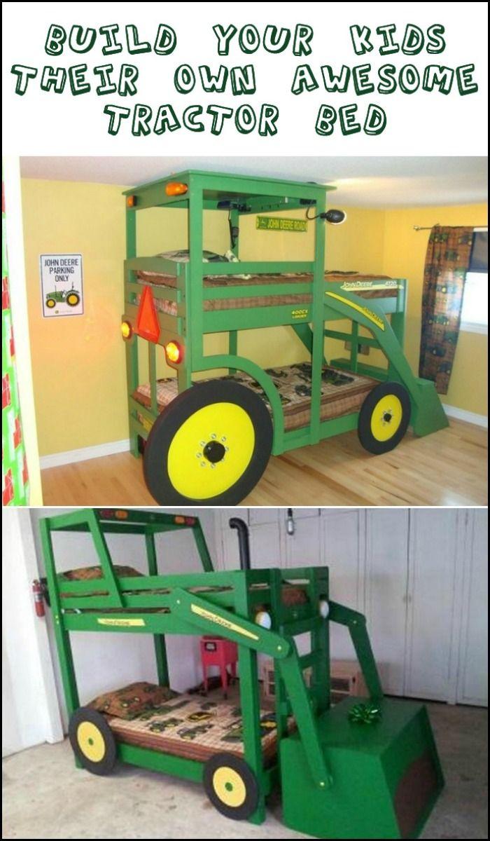 John Deere Bunk Bed Kit : Ideas about pallet bunk beds on pinterest kid