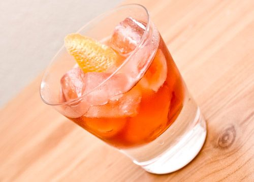 The Boulevardier | to the kitchen: drinks | Pinterest
