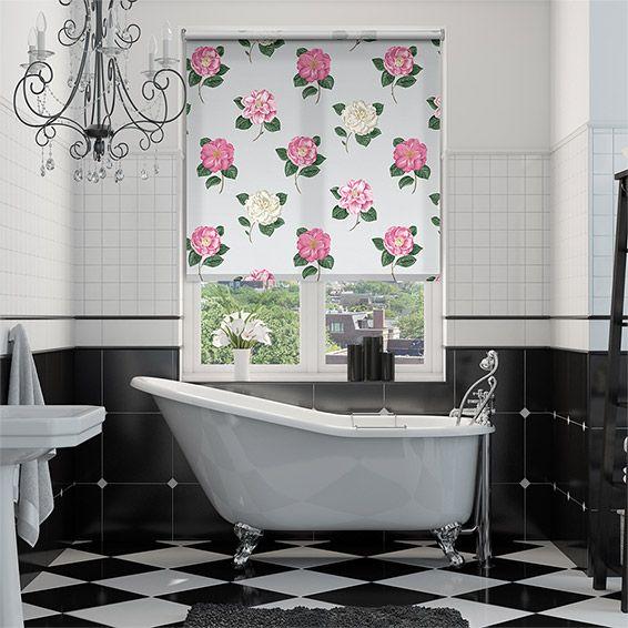 majestic wooden blinds for bathrooms. Lamorna Duck Egg Roller Blind 21 best Blinds  Bathroom images on Pinterest ideas