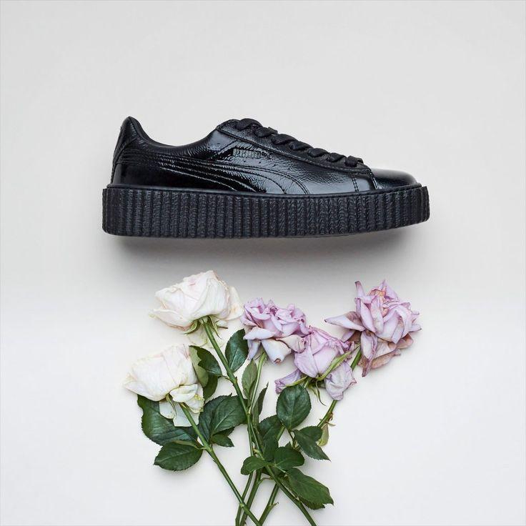 Sneakers women - Puma Creeper Fenty by Rihanna black