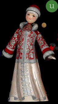 TVERSKOY UZOR - Art russe traditionnel - Poupées faites à la main - Souvenirs russes