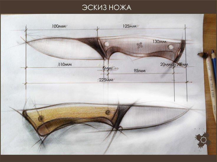 sketch knives
