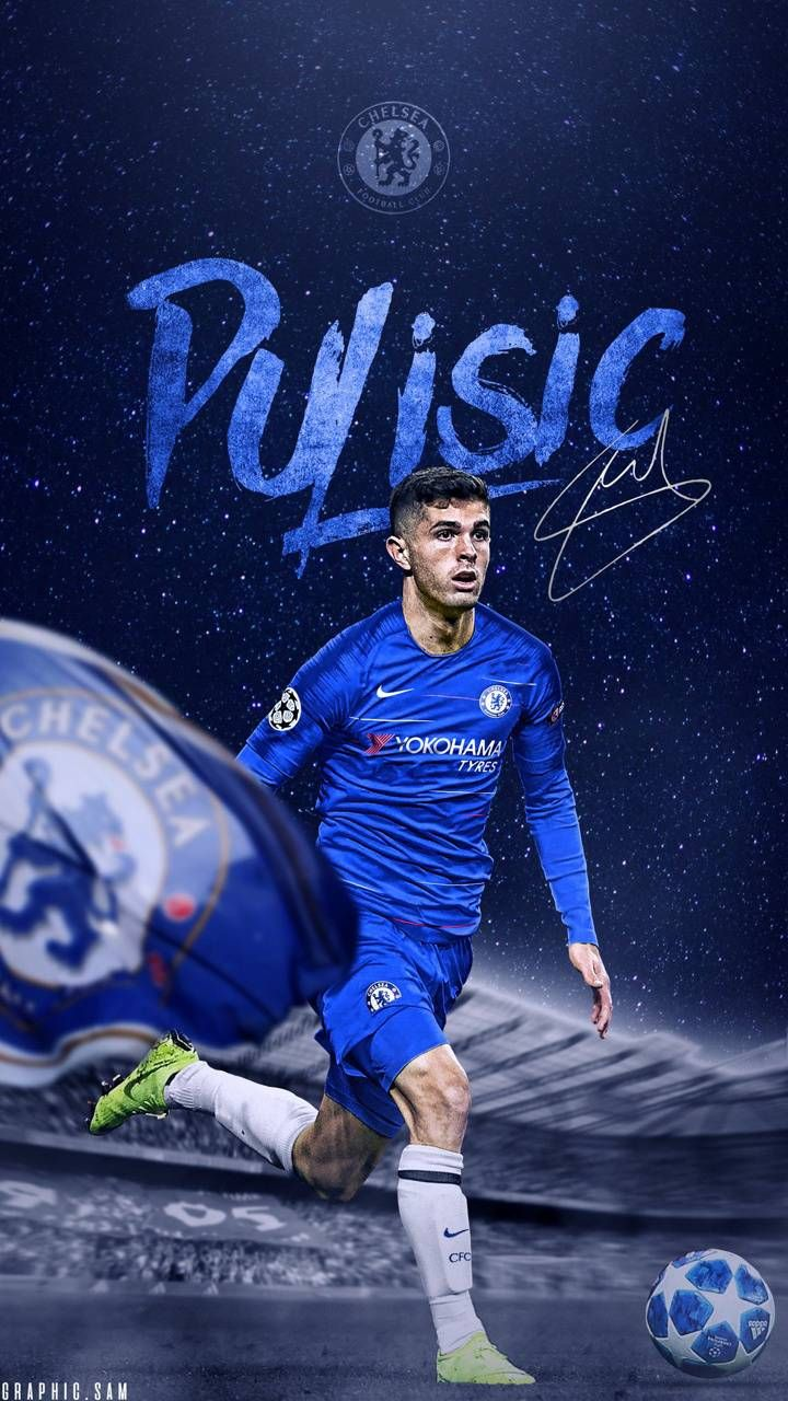 Christian Pulisic Wallpaper For Mobile Phone Tablet Desktop Computer And Other Devices Hd In 2020 Christian Pulisic Chelsea Players Chelsea Football Club Wallpapers