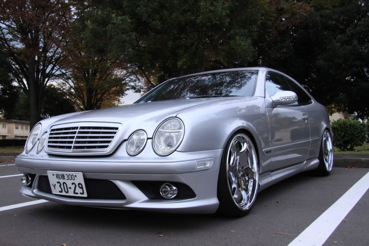 1999 mercedes benz clk 320 coupe customized