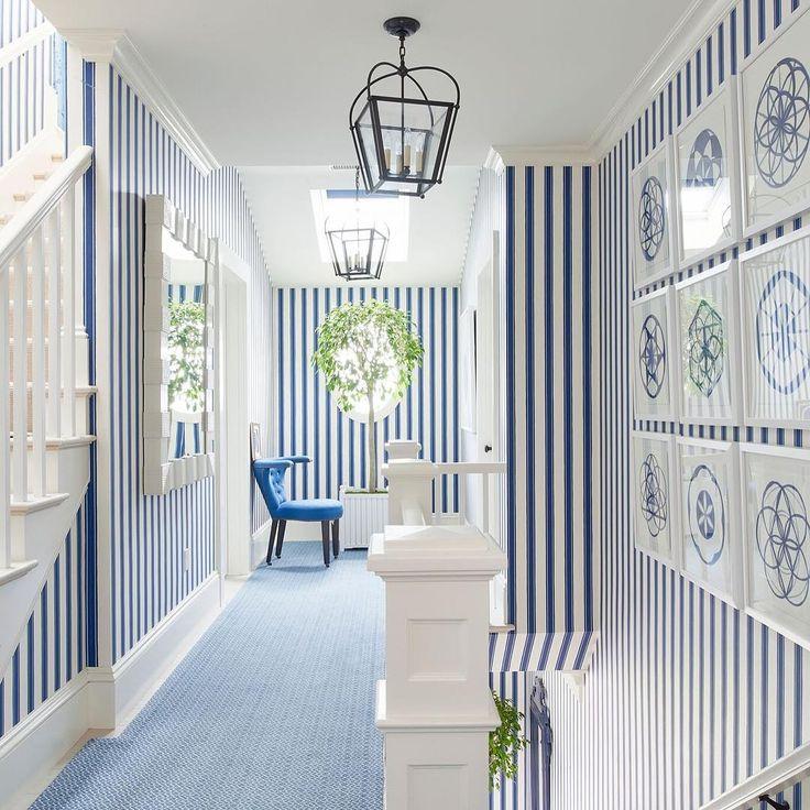 oomph Palm Beach Mirror in the Mark Sikes Coastal Living Showcase Home in Newport, RI