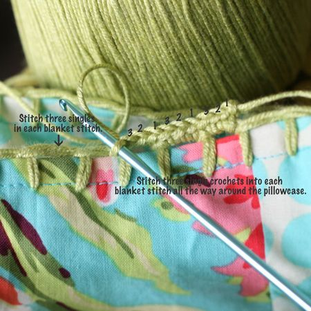 Crochet Edging How-To