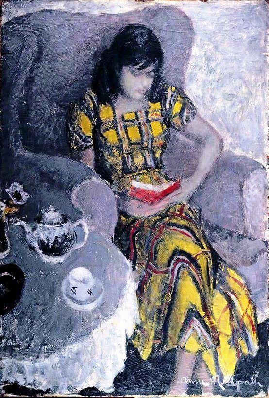 Eileen, c. 1949 Ann Redpath (Escócia, 1895-1965) óleo sobre madeira Ferens Art Gallery, Hull Museums, Grã Bretanha
