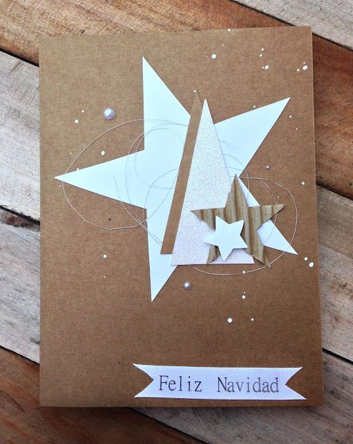 Sencillas tarjetas de Navidad