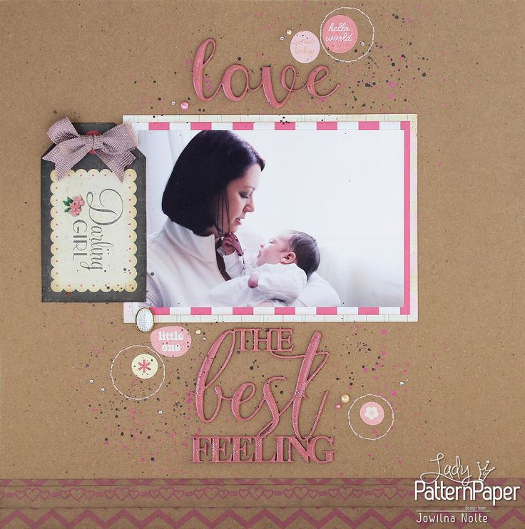 Sometimes the philosophy of less is more does seem to apply to my crafting. When the photos tell the real story, they become the star and rightly so, only to be supported by all the wonderful papers and embellishments we find ourselves surrounded by. #LadyPatternPaper #KraftEssentials #BaicEssentials #JowilnaNolte #Scrapbooking